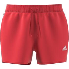 adidas 3S CLX VSL Shorts Hombre, rojo